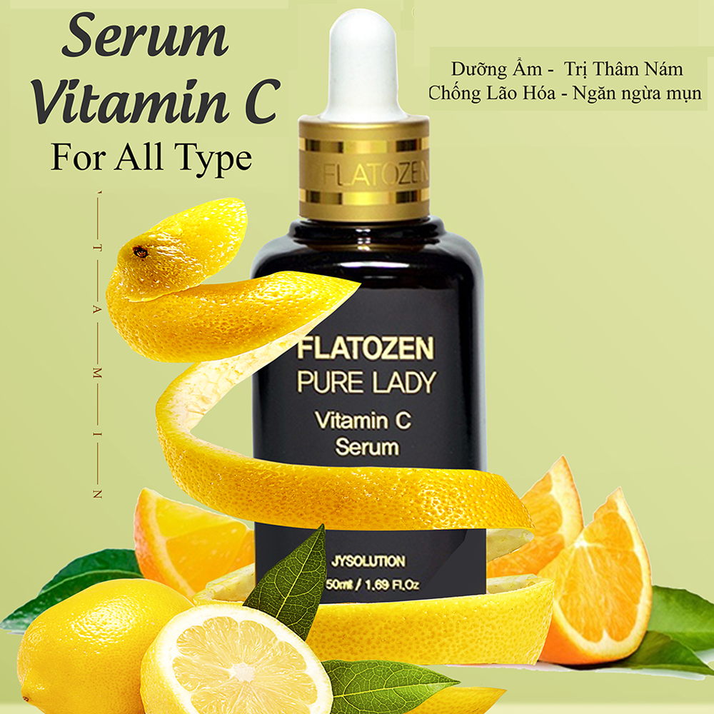Serum Vitamin C FLAROZEN PURE LADY 50ml