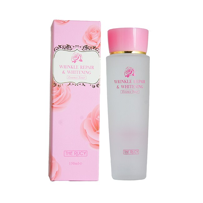 Nước Hoa Hồng The Rucy Wrinkle Repair & Whitening Essence Toner