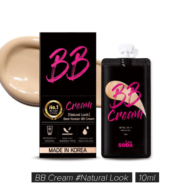 Kem Nền BB Cream Im Soda Natural Look SPF 35 PA++ gói 10ml