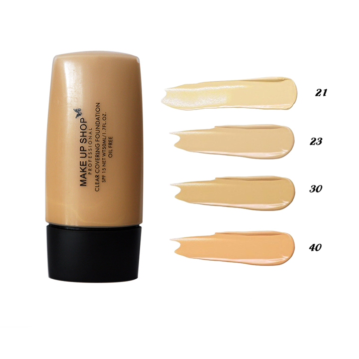 Kem Nền Che Khuyết Điểm Make Up Shop Clear Covering Foundation 50ml