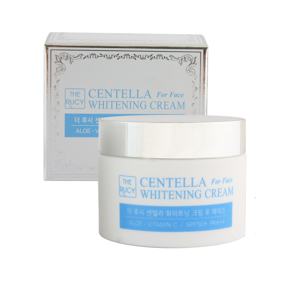 Kem Face Dưỡng Trắng The Rucy Centella Whitening Cream SPF50+ PA+++